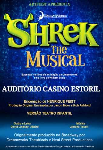SHREK – O MUSICAL | CASINO ESTORIL