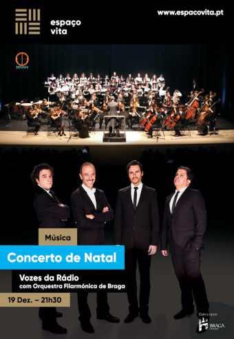 VOZES DA RÁDIO & OFB | CONCERTO DE NATAL