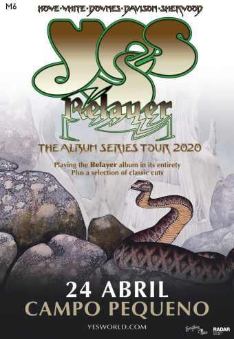 YES – THE ALBUM SERIES 2020 TOUR | CAMPO PEQUENO
