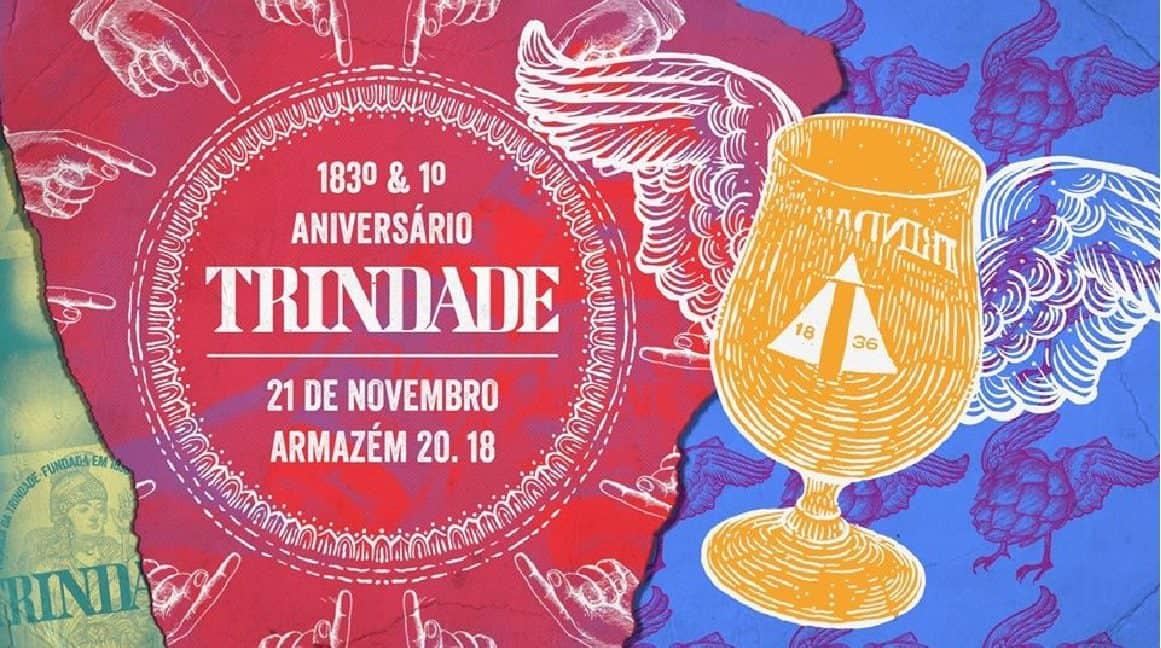 Depois de ter renascido há um ano, a icónica Cerveja Trindade celebra o seu centésimo octogésimo terceiro aniversário já no próximo dia 21 de novembro, e convida todos para uma festa única com cerveja, muita música e de entrada livre.