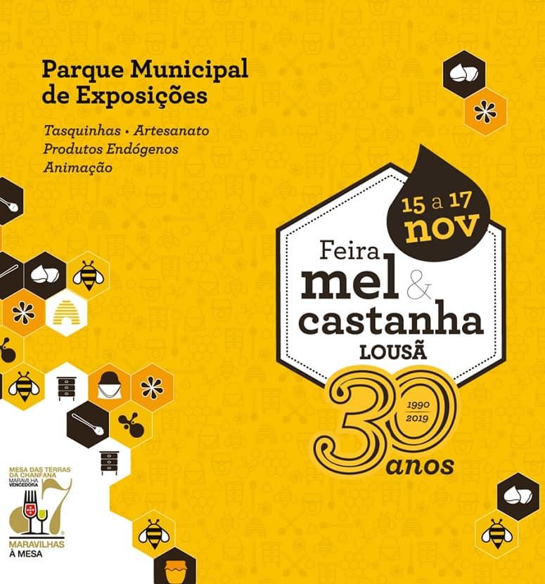 FEIRA DO MEL E DA CASTANHA LOUSÃ 2019