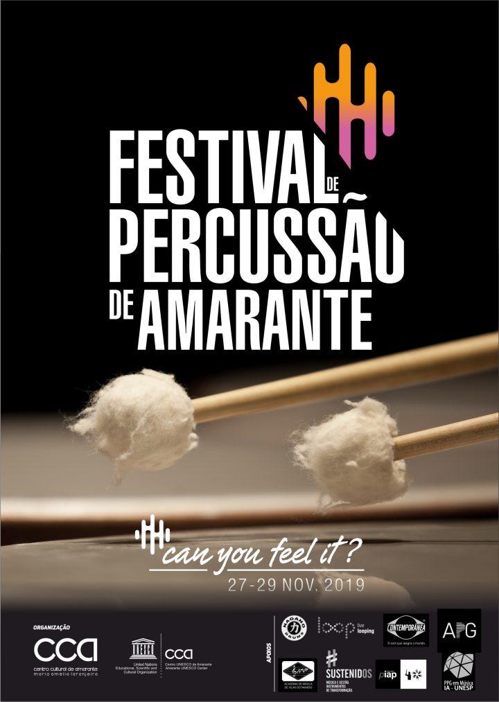 I FESTIVAL DE PERCUSSÃO DE AMARANTE 2019