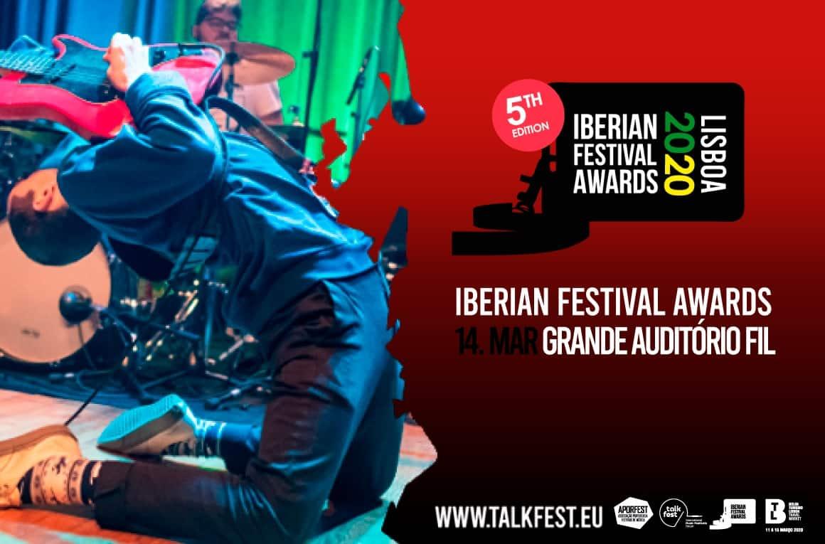 A Coolture encontra-se nomeada, na categoria Best Media Partner, na 5ª edição dos Iberian Festival Awards, integrados no Talkfest - International Music Festivals Forum que decorrerá na cidade de Lisboa, em paralelo e parceria com a BTL – Bolsa de Turismo de Lisboa, entre os dias 11 e 15 de março de 2020.
