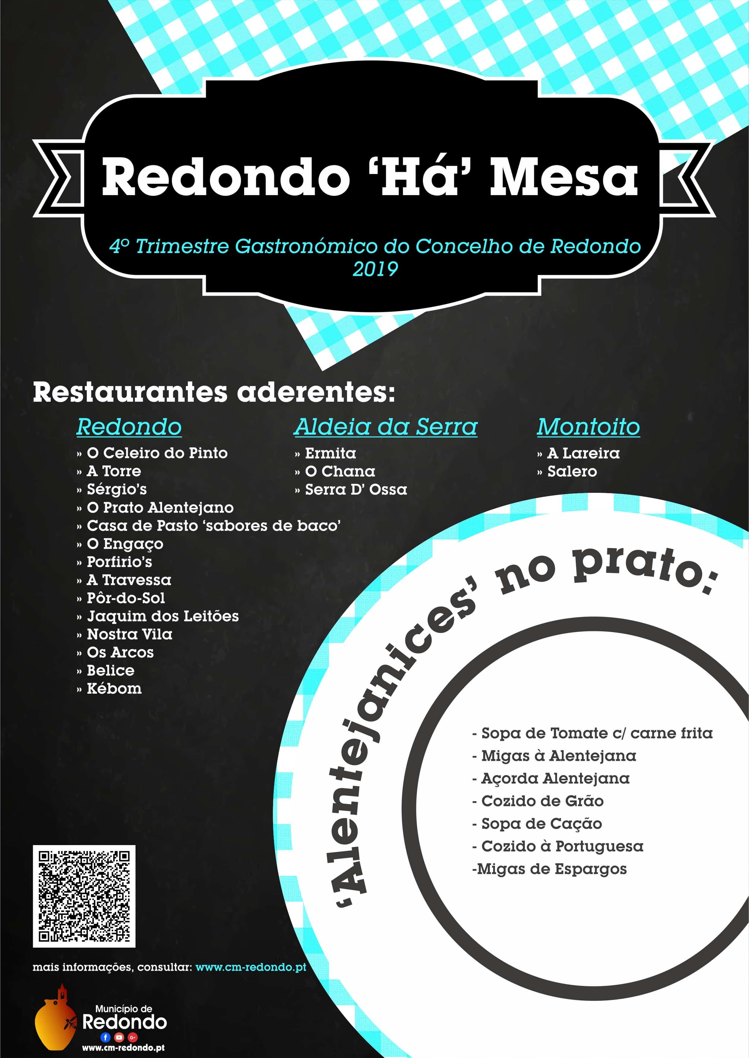 "SEMANA DAS MIGAS – REDONDO ""HÁ"" MESA 2019"