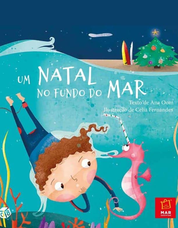 """Pai Natal oferece """"Um Natal no Fundo do Mar"""""""