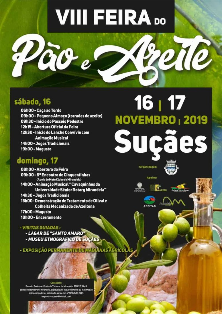 VIII FEIRA DO PÃO E DO AZEITE 2019