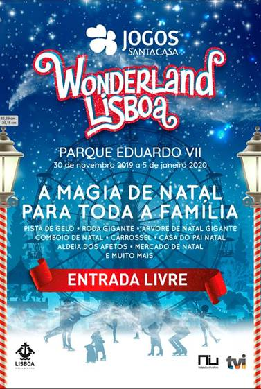 WONDERLAND LISBOA 2019   PARQUE EDUARDO VII