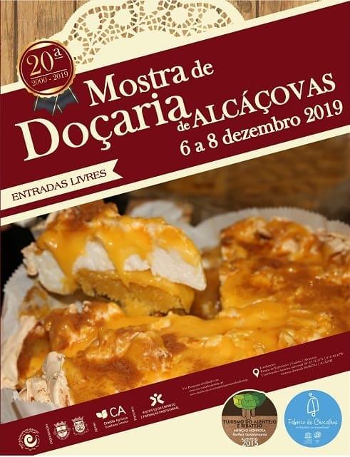 XX MOSTRA DE DOÇARIA DE ALCÁÇOVAS