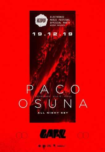 NEOPOP PRESENTS PACO OSUNA   GARE CLUBE