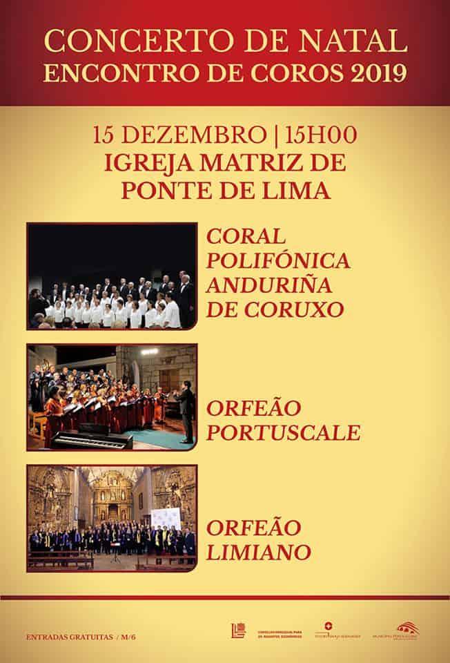 CONCERTO DE NATAL – ENCONTRO DE COROS 2019