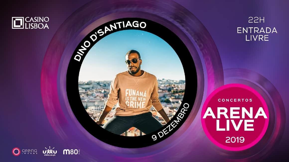 DINO D'SANTIAGO NOS CONCERTOS ARENA LIVE 2019