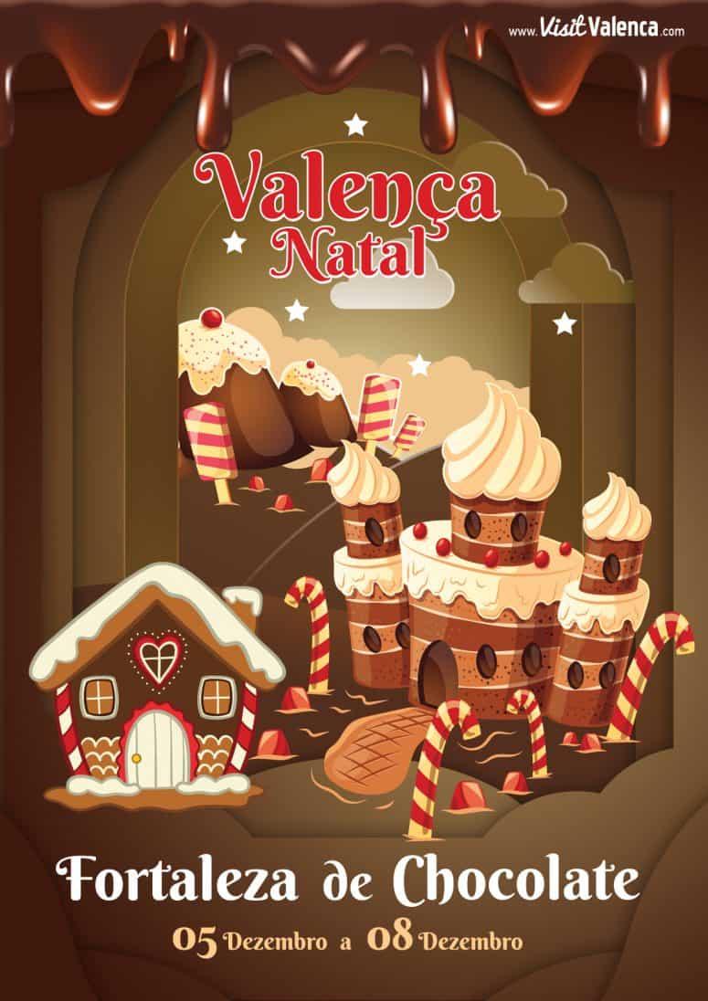 FORTALEZA DE CHOCOLATE 2019 VALENÇA