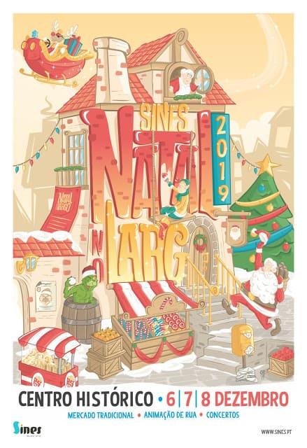 NATAL NO LARGO 2019 SINES | PROGRAMA