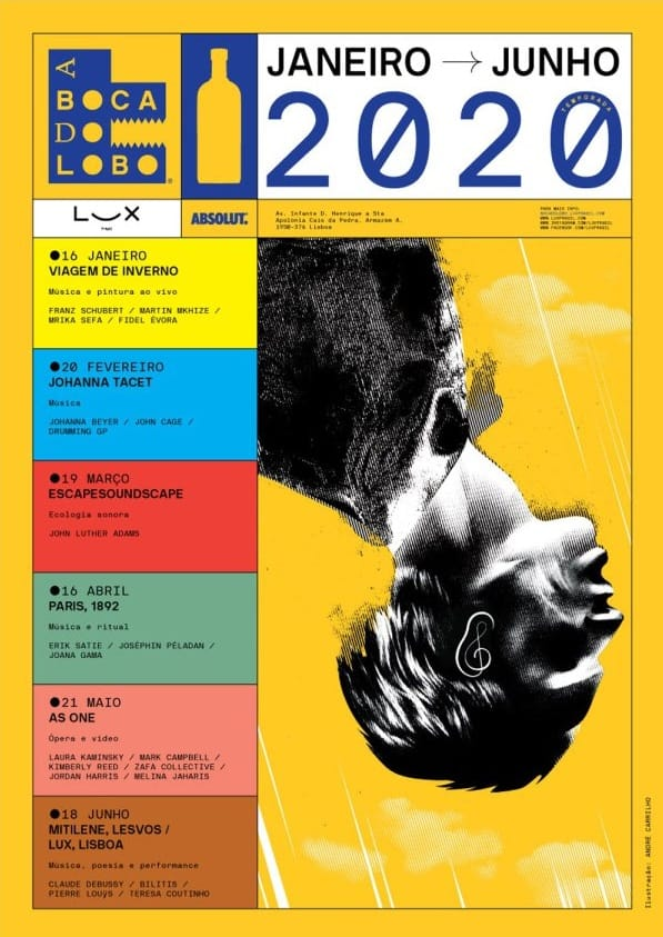 A BOCA DO LOBO – LUX FRÁGIL – JAN A JUN 2020