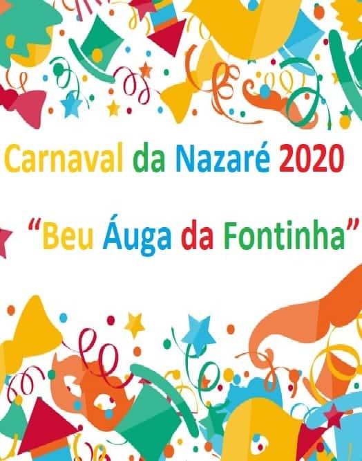 CARNAVAL DA NAZARÉ 2020 – PROGRAMA GERAL