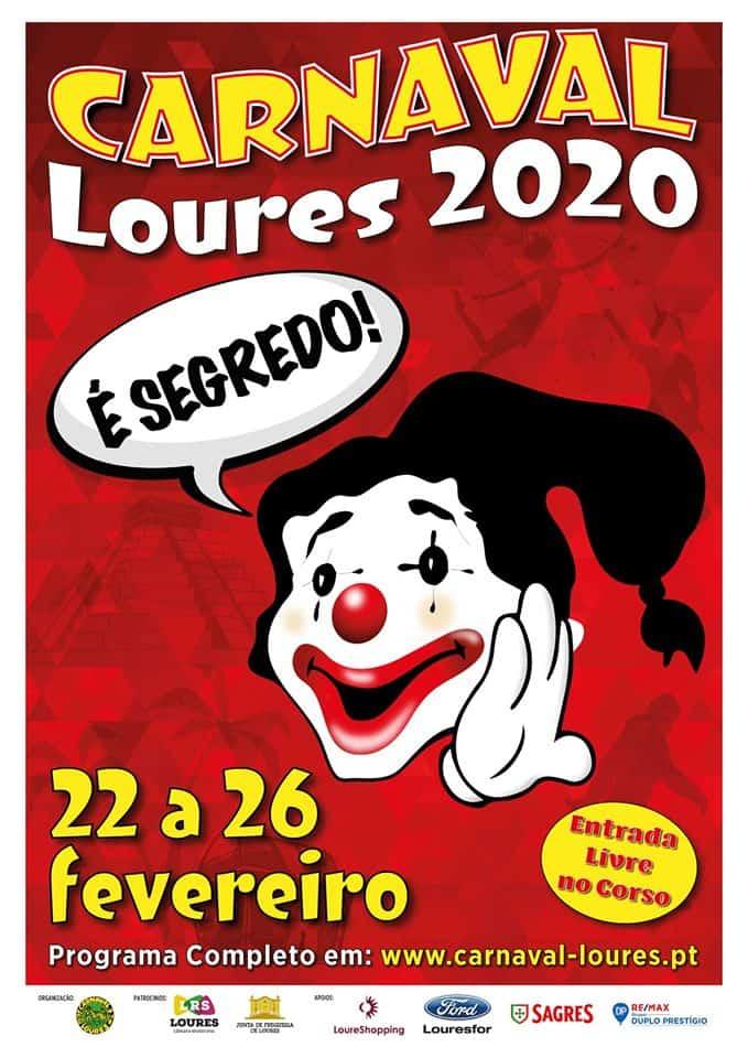 CARNAVAL DE LOURES 2020 | PROGRAMA COMPLETO
