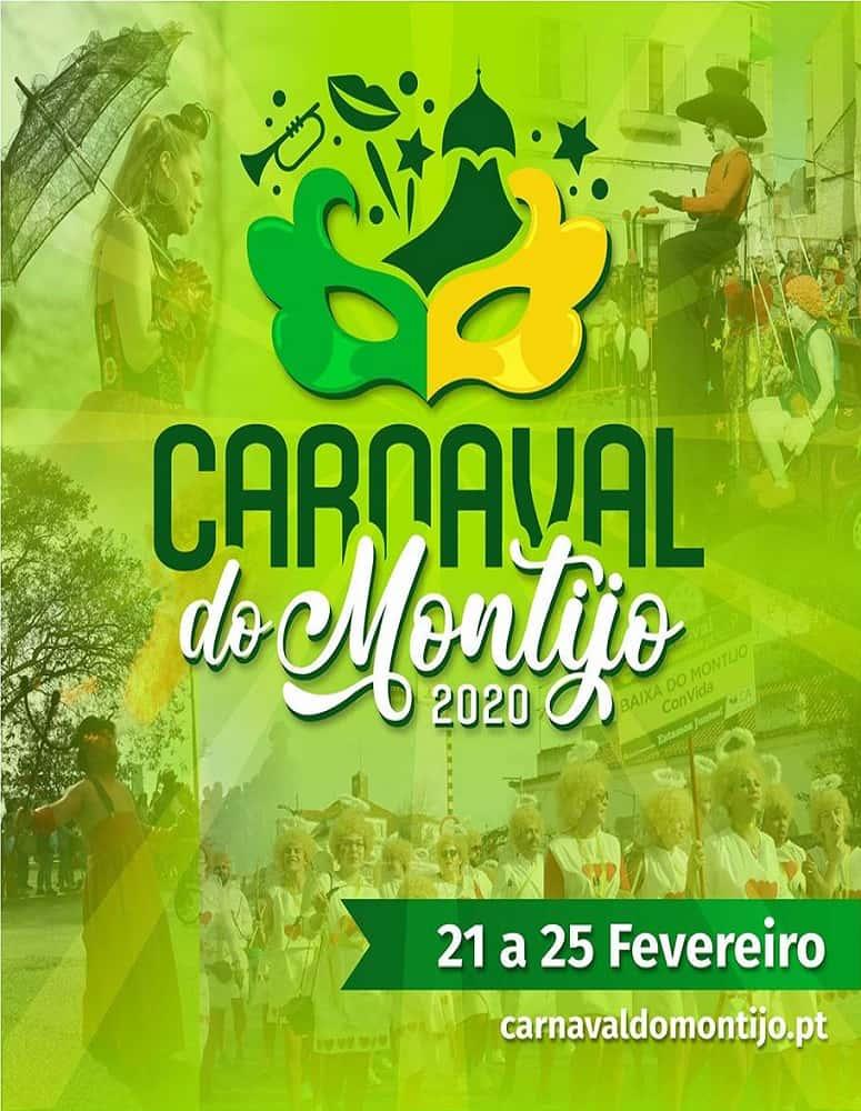 CARNAVAL DO MONTIJO 2020   PROGRAMA GERAL