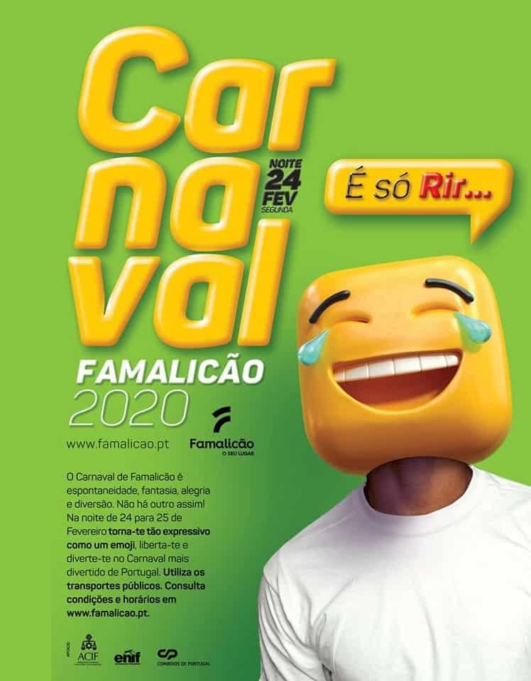 CARNAVAL VILA NOVA DE FAMALICÃO 2020 | PROGRAMA GERAL