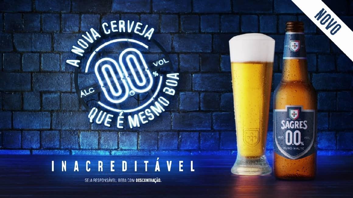 Sagres 0.0 tão boa que até parece mentira! Está lançado o desafio pela Sagres a começar 2020 do Zero, com a Cerveja que é mesmo boa! Ano Novo, Vida Nova!