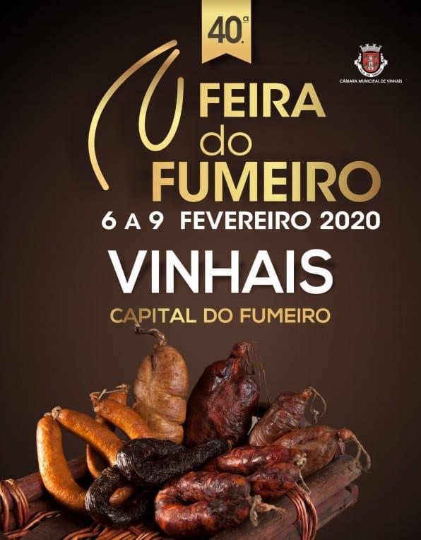 """VINHAIS FEIRA DO FUMEIRO 2020 - A Feira do Fumeiro de Vinhais realiza-se anualmente, em fevereiro, desde 1981. Destaca-se das demais pelo seu fumeiro de excelência que lhe valeu a atribuição do título de a """"Capital do Fumeiro""""."""