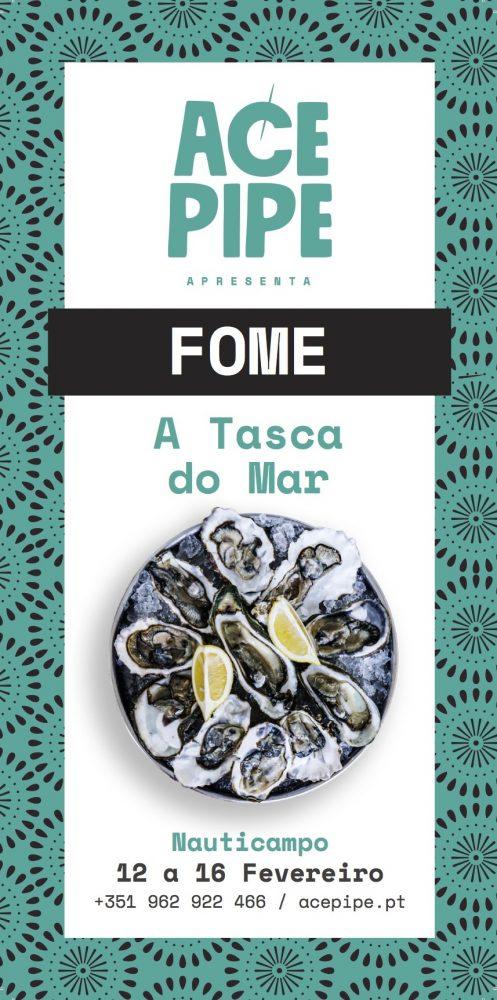 O que tem Acepipe, Fome e Tasca do Mar a ver com a Nauticampo 2020? Pode parecer estranho, mas tem tudo, como vamos ver mais abaixo, nesta que é a feira dos amantes da vida ao ar livre, e que decorre na FIL - Feira Internacional de Lisboa, de 12 a 16 de fevereiro.