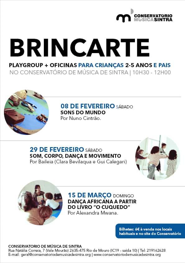 BrincArte – playgroup + oficina Som, Corpo, Dança e Movimento com Baileia