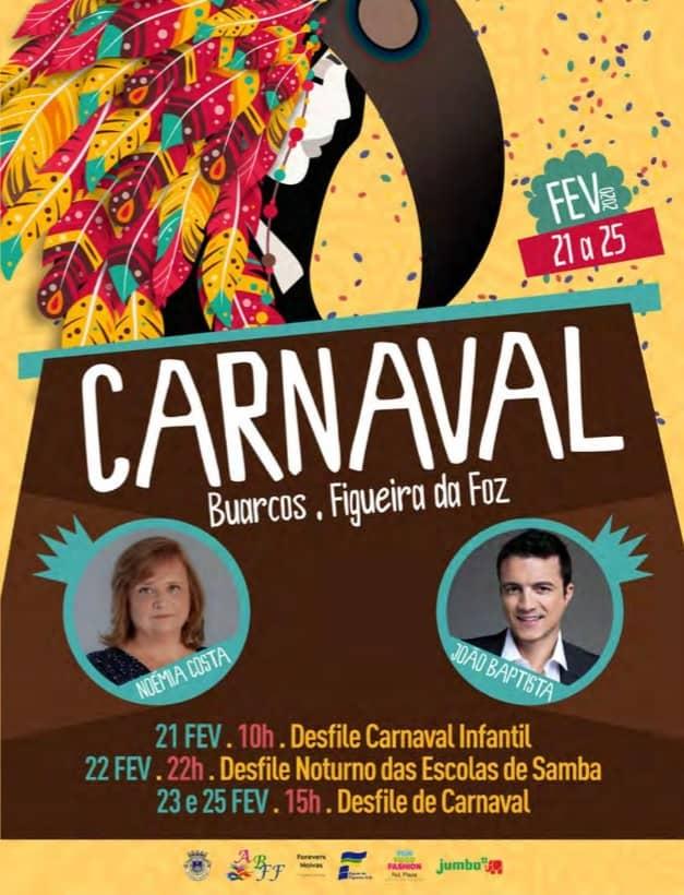 CARNAVAL BUARCOS FIGUEIRA DA FOZ 2020 | PROGRAMA