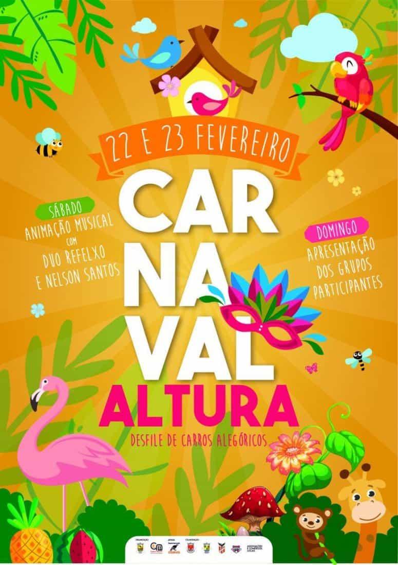 CARNAVAL DE ALTURA 2020   MÃE NATUREZA