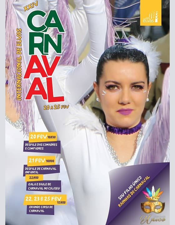 CARNAVAL DE ELVAS 2020 – PROGRAMA GERAL