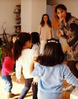 BrincArte – playgroup + oficina de dança africana a partir do livro O Cuquedo