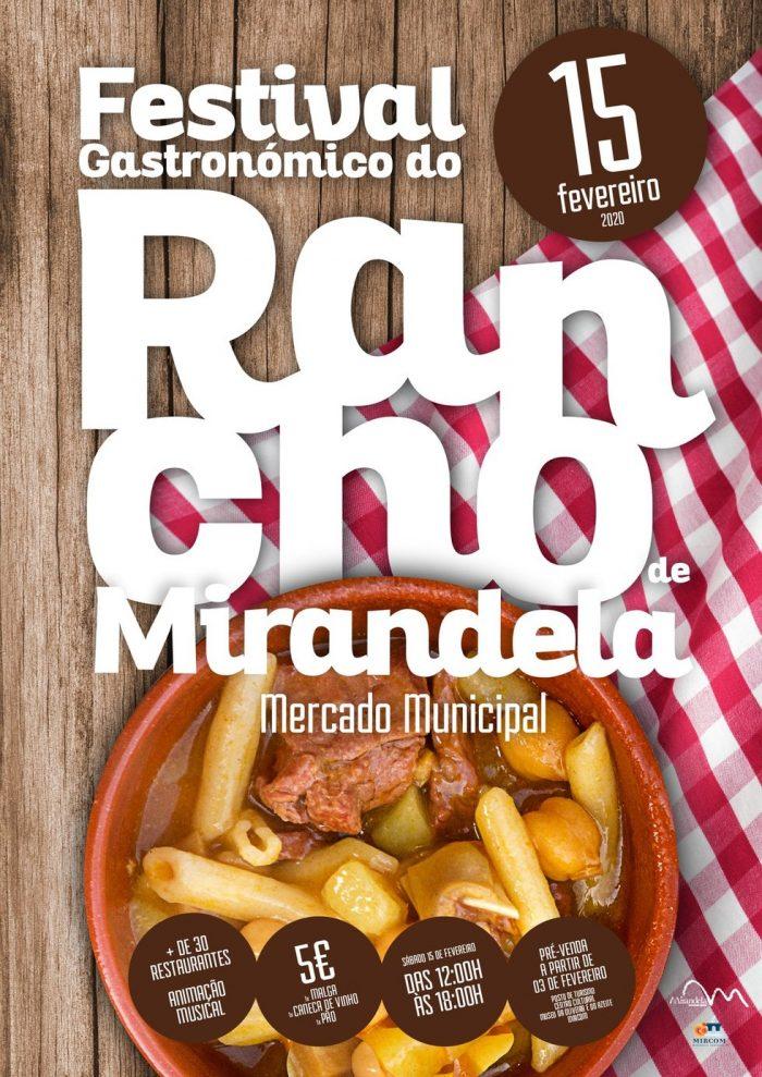 FESTIVAL GASTRONÓMICO DO RANCHO DE MIRANDELA 2020 - O famoso Rancho de Mirandela regressa ao Mercado Municipal no dia 15 de fevereiro.