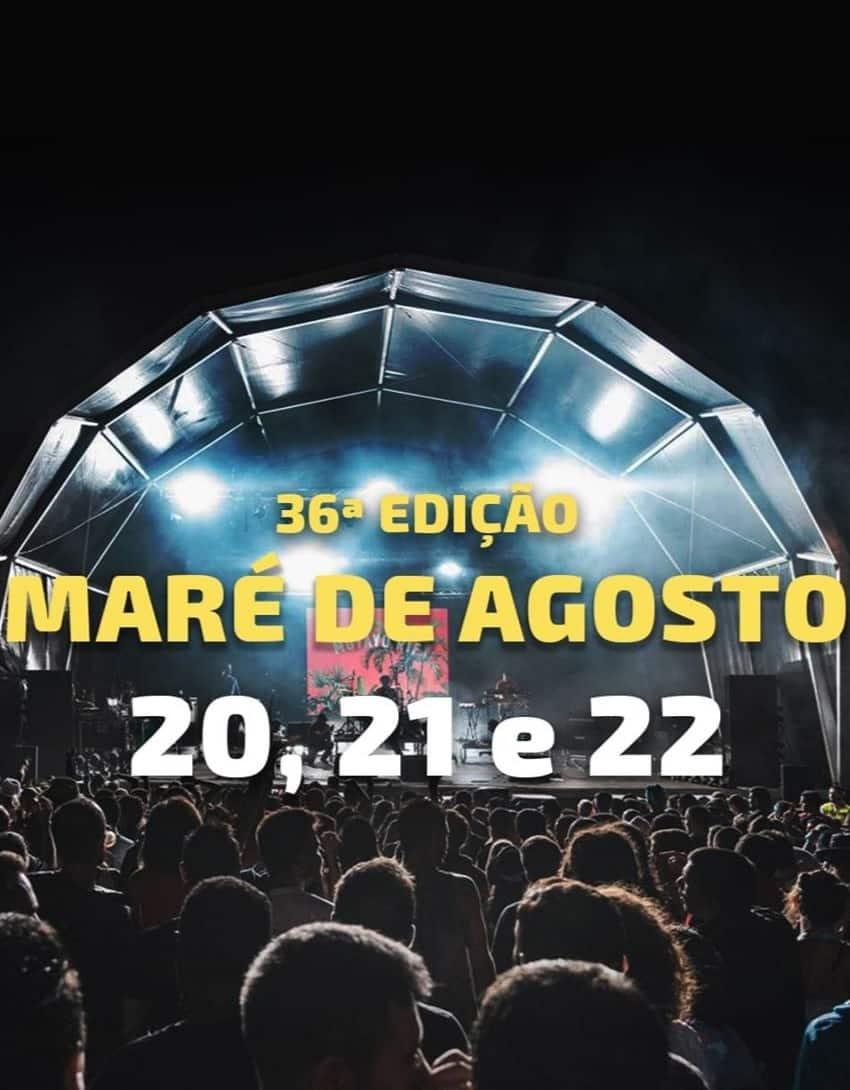 FESTIVAL MARÉ DE AGOSTO 2020 | ILHA SANTA MARIA