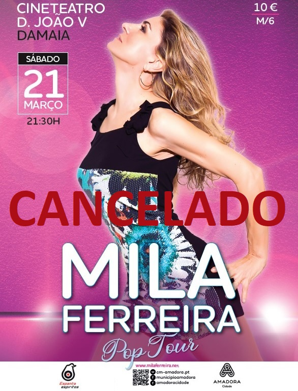 MILA FERREIRA – POP BAND TOUR