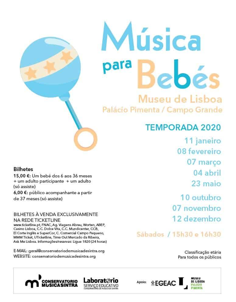 Música para Bebés | Palácio Pimenta