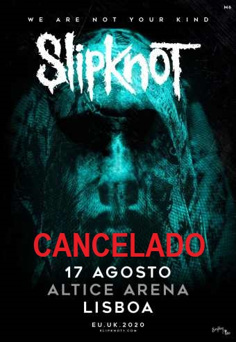 SLIPKNOT – WE ARE NOT YOUR KIND | ALTICE ARENA