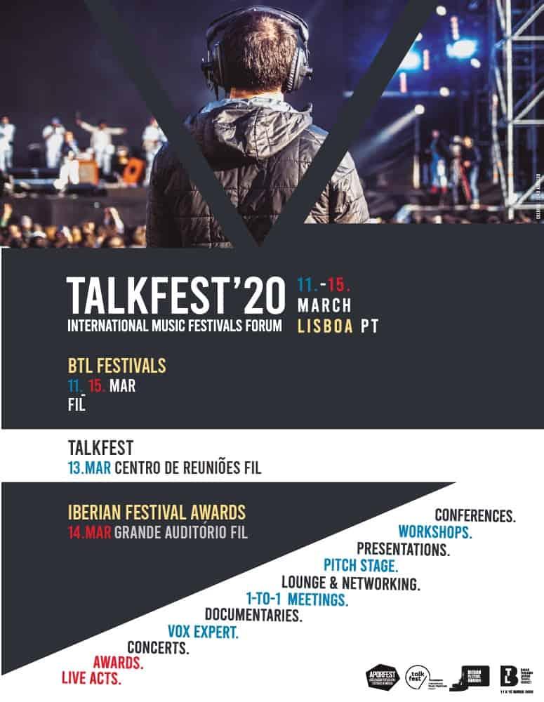 TALKFEST'20 | CENTRO DE REUNIÕES FIL – LISBOA