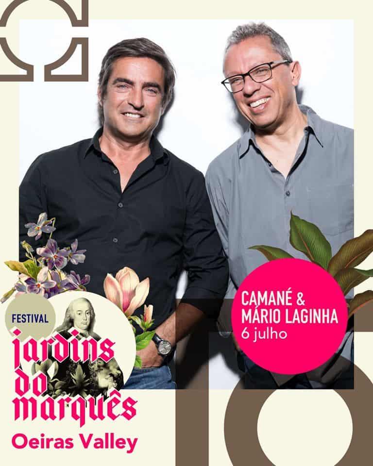 CAMANÉ & MÁRIO LAGINHA – FESTIVAL JARDINS DO MARQUÊS