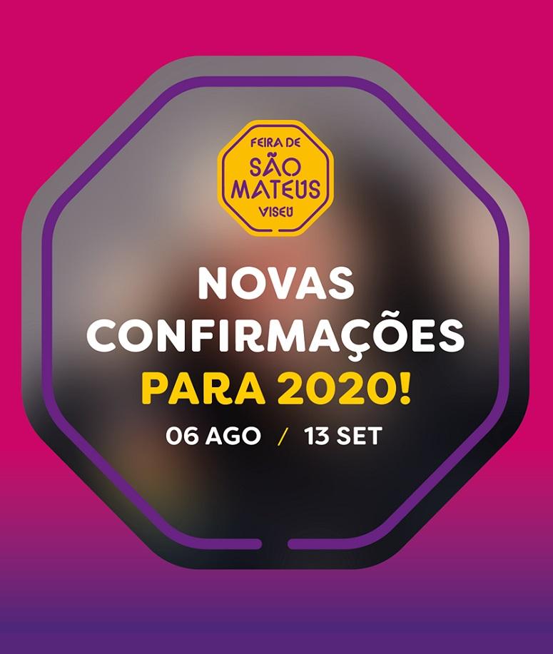 FEIRA DE SÃO MATEUS 2020 VISEU | PROGRAMAÇÃO CONCERTOS