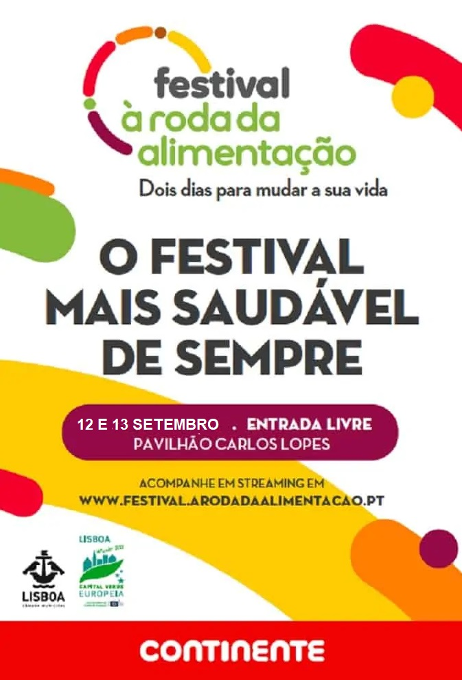 FESTIVAL À RODA DA ALIMENTAÇÃO DO CONTINENTE 2020