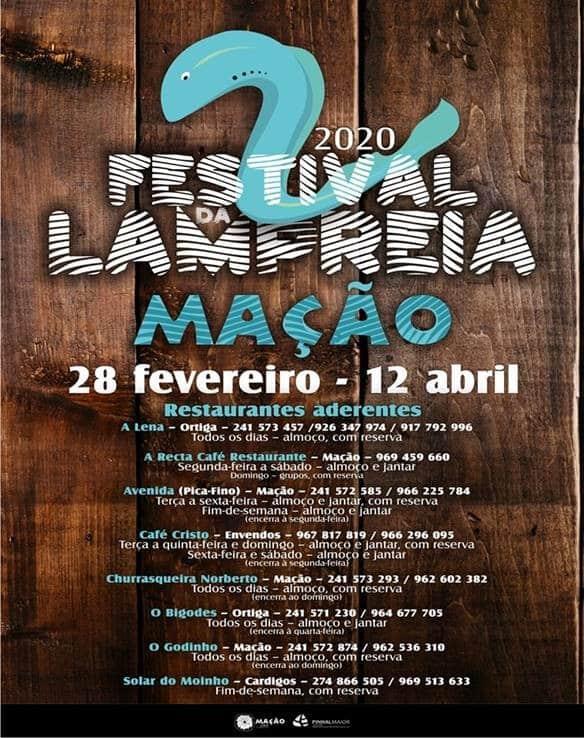 FESTIVAL DA LAMPREIA EM MAÇÃO 2020
