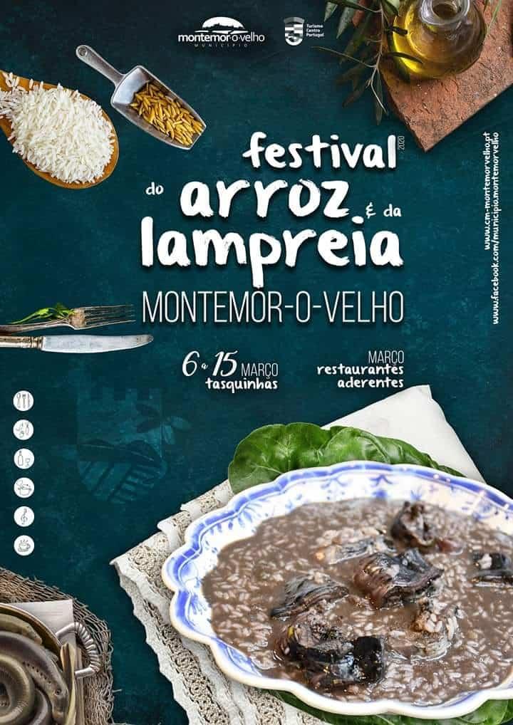 FESTIVAL DO ARROZ E DA LAMPREIA 2020 MONTEMOR-O-VELHO