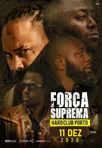 FORÇA SUPREMA | HARD CLUB PORTO