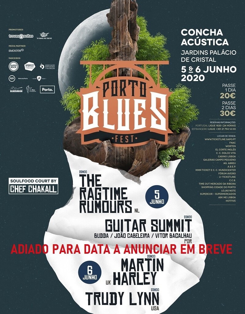 PORTO BLUES FEST 2020 – PASSE | PALÁCIO DE CRISTAL