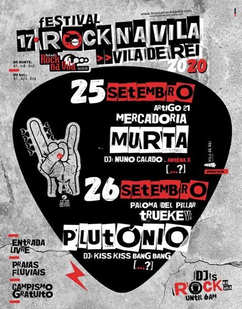 ROCK NA VILA 2020 FESTIVAL | VILA DE REI