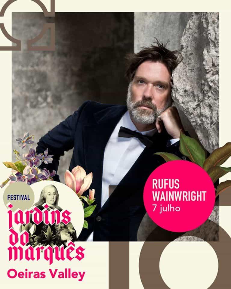 RUFUS WAINWRIGHT – FESTIVAL JARDINS DO MARQUÊS