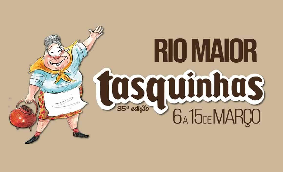 TASQUINHAS DE RIO MAIOR 2020 ABREM HOJE PORTAS 6 DE MARÇO