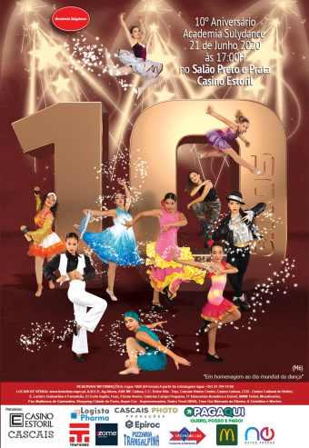 ACADEMIA SULYDANCE – 10º ANIVERSÁRIO | CASINO ESTORIL