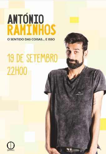 ANTÓNIO RAMINHOS – O SENTIDO DAS COISAS… E ISSO   ESPAÇO VITA