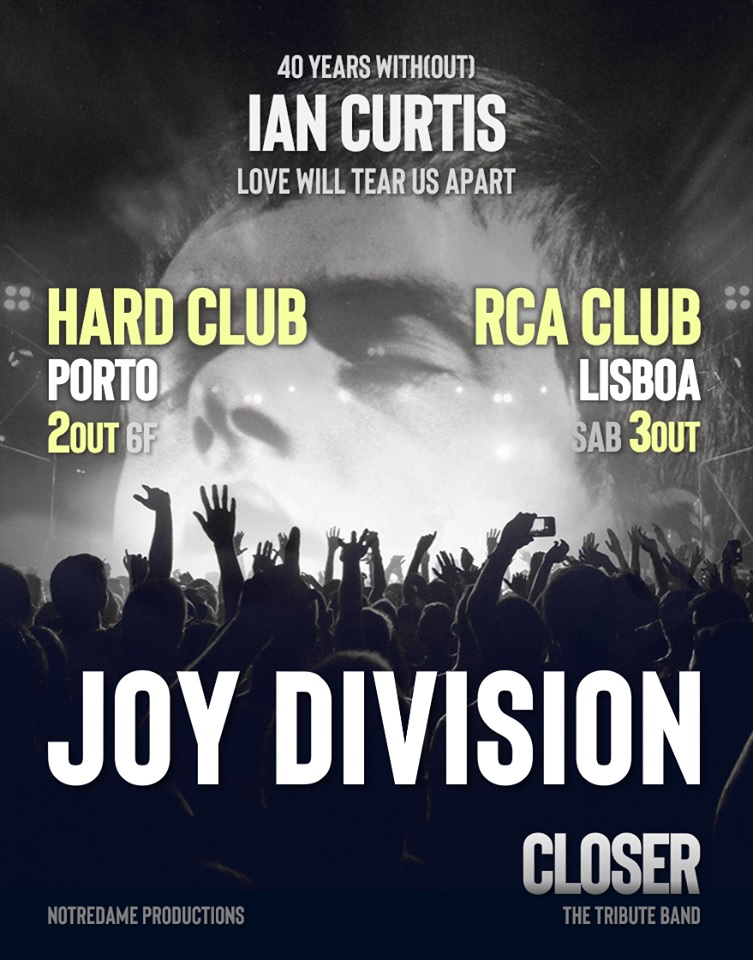 JOY DIVISION – 40 YEARS WITH(OUT) IAN CURTIS | RCA CLUB