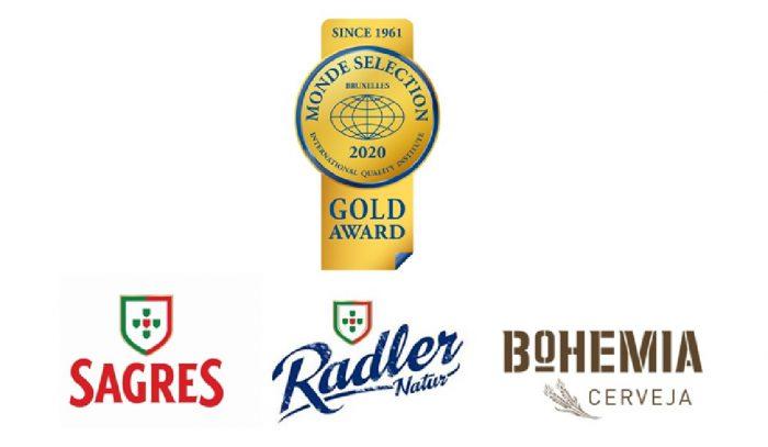 O concurso Monde Selection 2020, voltou a premiar com a medalha de Ouro, a Sagres, a Sagres Radler e a Bohemia, o que demonstra, uma vez mais, a qualidade e a excelência destes produtos além-fronteiras.